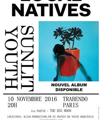 Agenda : Local Natives au Trabendo, le 10 novembre 2016