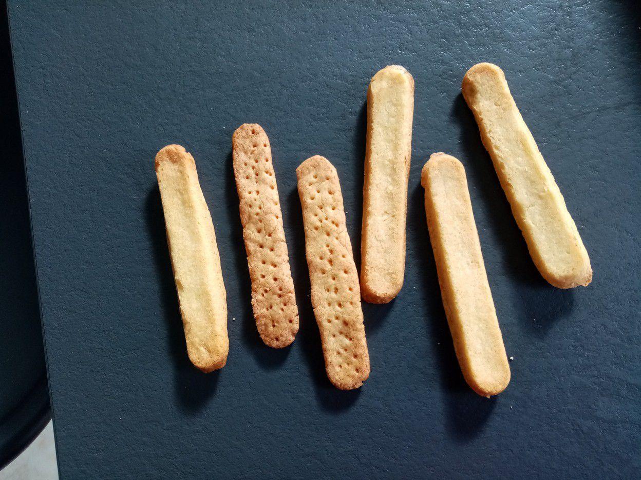 Shortbread au mini bol du companion