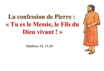 29 juin St Pierre et St Paul (Matthieu 16, 13-19) (DiMail 77)