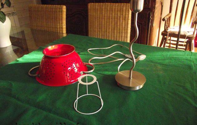 Une lampe passoire