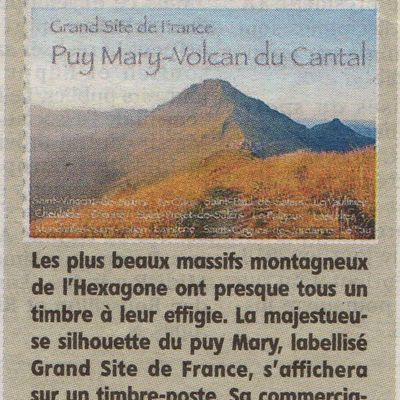 Timbre-poste du Puy-Mary