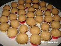 Boules de cacahuètes