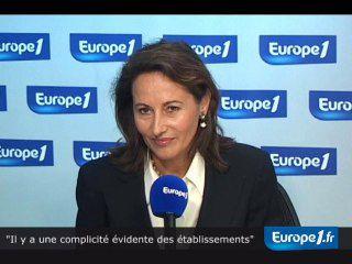 Ségolène Royal était l'invitée de Europe 1 matin