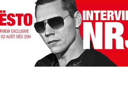 Tiësto - interview sur NRJ Belgium