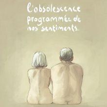 L'obsolescence programmée de nos sentiments - Zidrou ; Aimée De Jongh