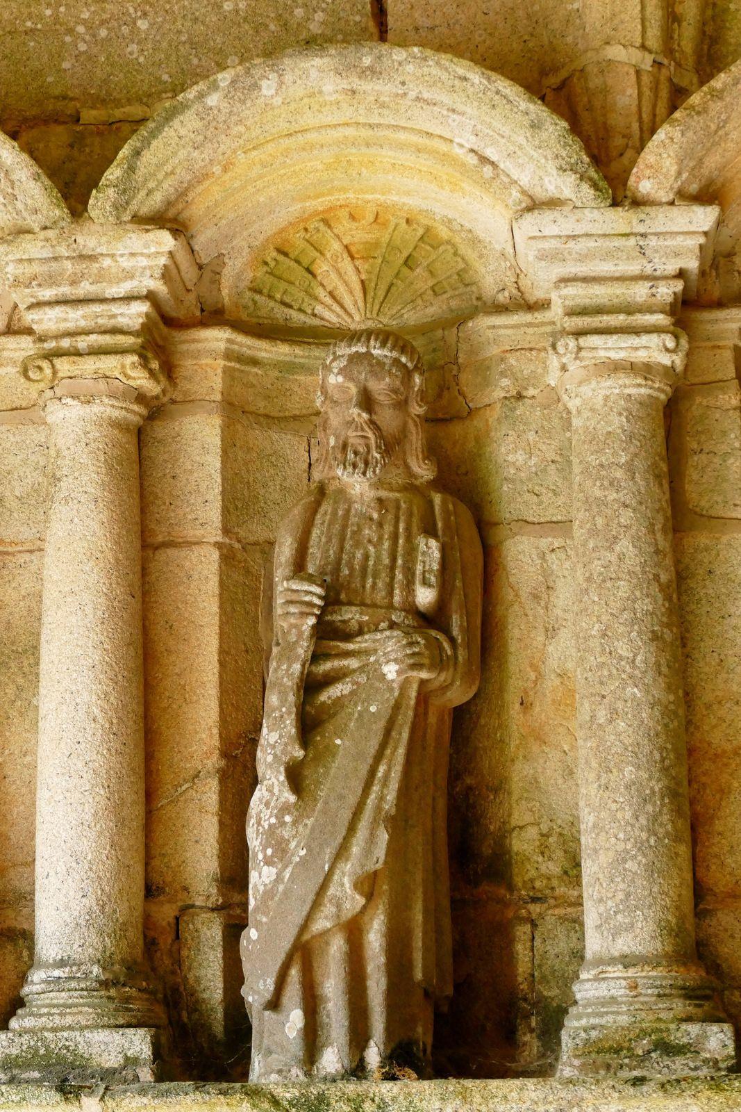 Porche sud de l'église Saint-Hervé de Lanhouarneau. Photographie lavieb-aile.