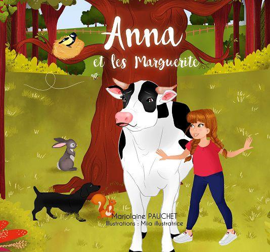 Couverture Anna et les Marguerite