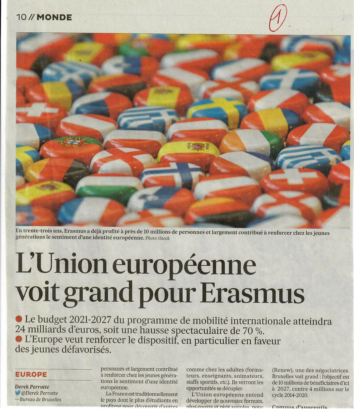 Vus et lus dans Télérama n° 3718 du 14/04/21, et Les Echos du 15/12/20