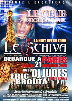 [SHOW] LE SCHIVA A PARIS LE 21/11