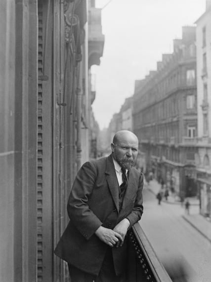 Photos de Paris et portrait d'Albert Kahn
