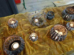 Lanternes de Sylvia, boules de Noël et Vôge gourmande