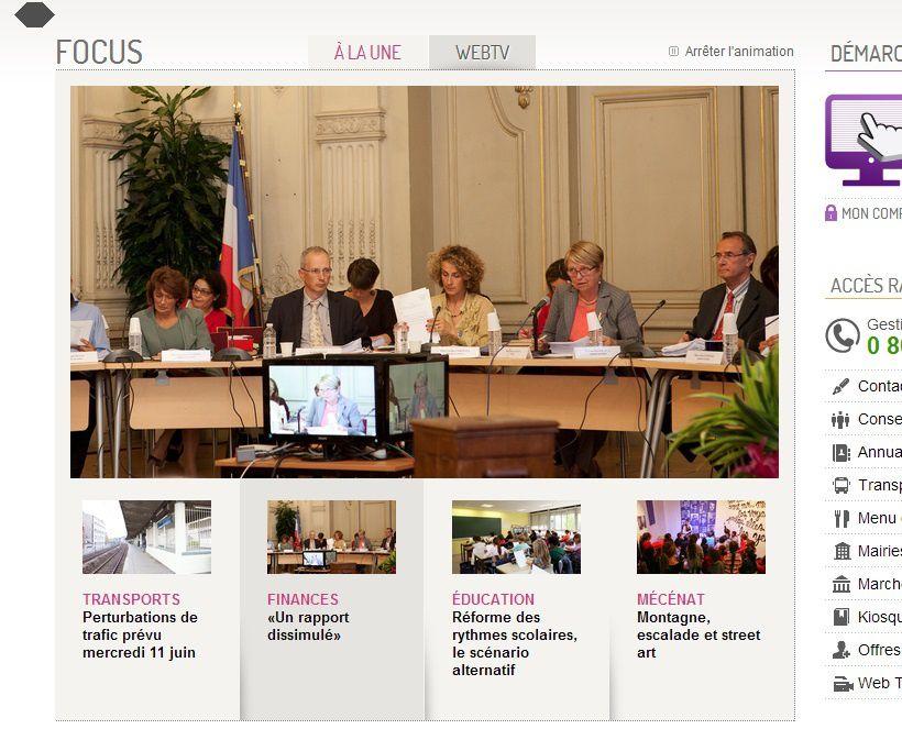 """COLOMBES INTOX : """"finance : un rapport dissimulé"""" selon la droite réunifiée !"""