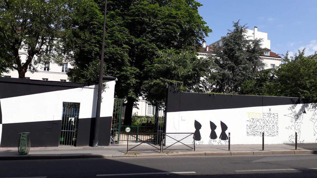Honet au Mur du Pavillon Carré de Baudouin