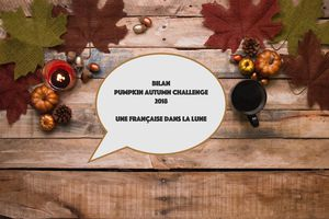 Bilan Pumpkin Autumn Challenge 2018 (automne 2018)