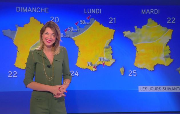 La vidéo de LA METEO d'ELEONORE BOCCARA le 2016 06 18 matin sur i>tele