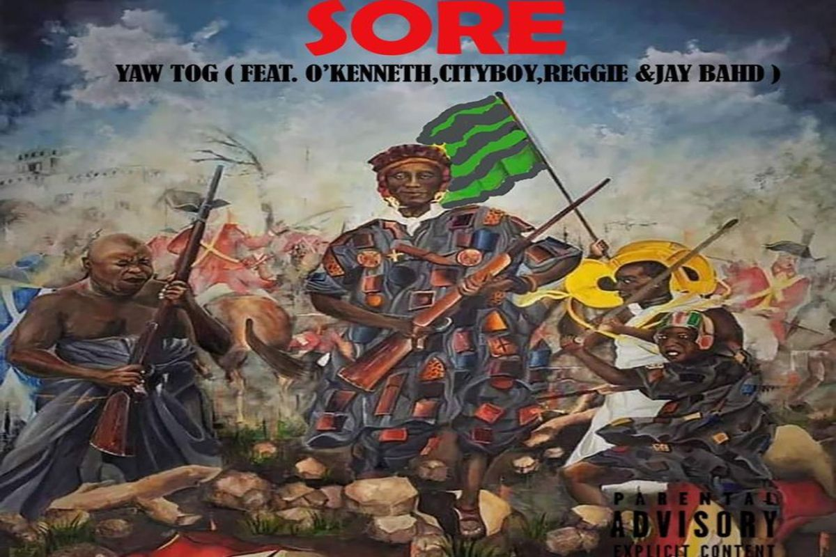 Yaw Tog SORE ft O`kenneth,City Boy, Reggie, Jay bahd