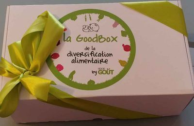 Découverte de la GoodBox de chez Good Goût