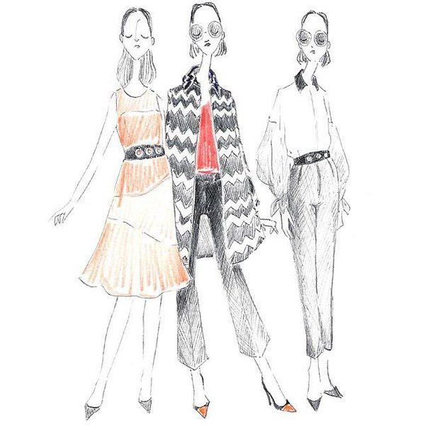 Site d'illustrations de mode HYPERMONDAINE