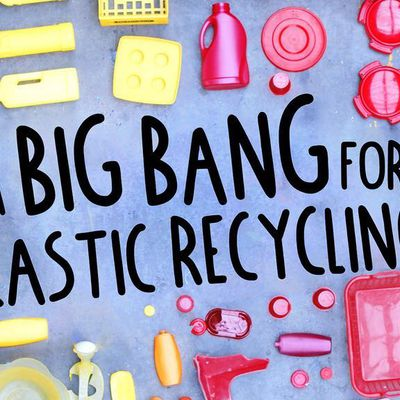Recycling and plastic injection