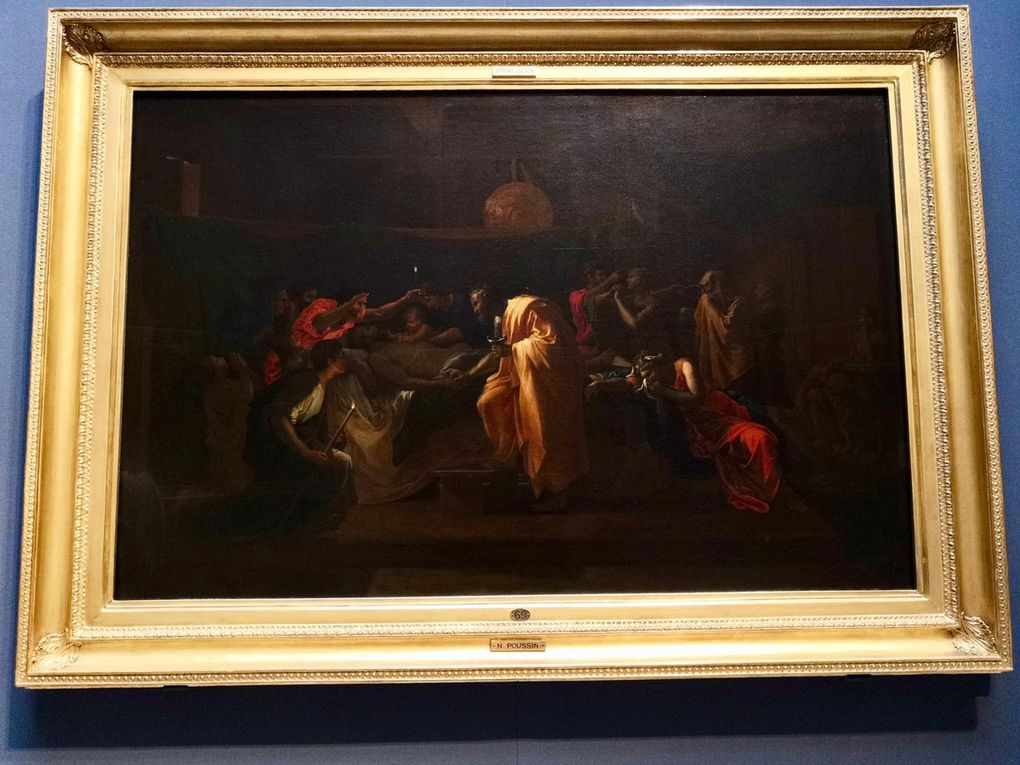 Nicolas Poussin, The Sacrament of Extreme Unction, 1644, Oil on canvas