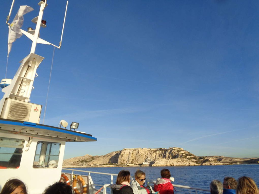 Vieux Port de Marseille à l'archipel du Frioul.