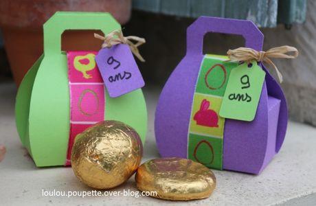 Bonbonnières de Pâques ?