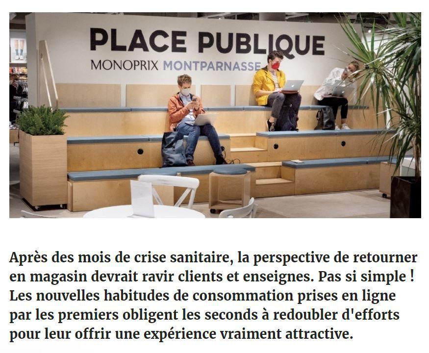 Dans les médias (261) : eMarketing.fr : face aux dark stores, jusqu'où pousser l'expérience en magasin ?
