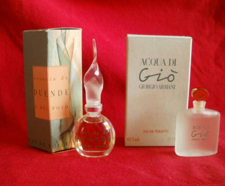 Ma collection de flacons de parfums miniatures