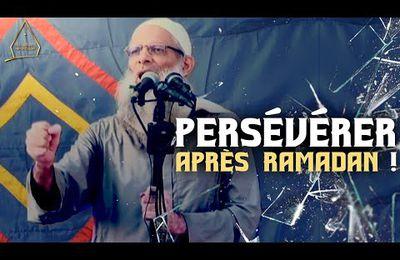 Persévérer après Ramadan !