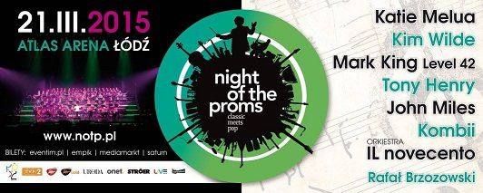 """Kim Wilde retrouve Night Of The Proms ce soir en Pologne"""