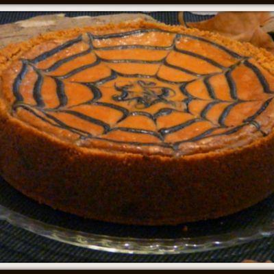 Cheesecake potiron un avant goût d' HALLOWEEN