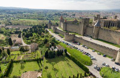 Carcassonne vu du ciel