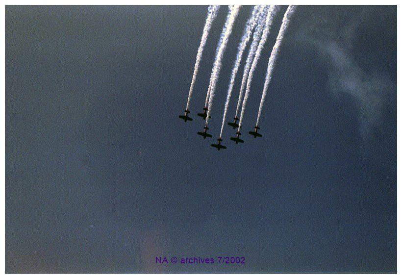 Quelques belles démonstrations dans le ciel alsacien