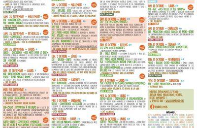 Le programme du festival vivant autour de Cadenet