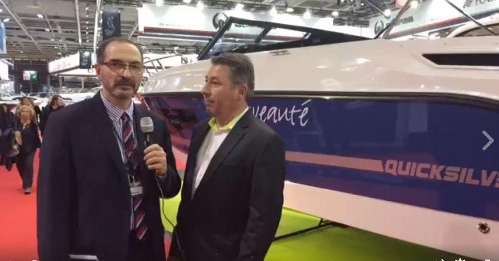 Vidéo - présentations des nouveautés Quicksilver 2017 depuis le Nautic de Paris