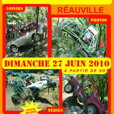 DEMONSTRATION TRIAL 4X4 LE 27 JUIN 2010 !!!