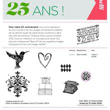 les tampons best of 25eme anniversaire