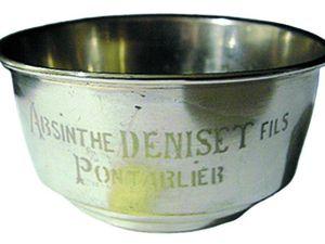 Brouille-absinthe en métal pour l'absinthe Deniset.