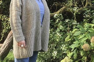 Cardigan Woodfords en Rowan Felted Tweed