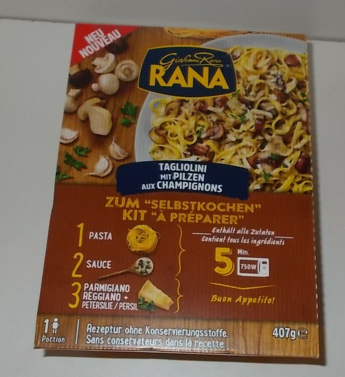Giovanni Rana Taglioni mit Pilzen zum Selbstkochen