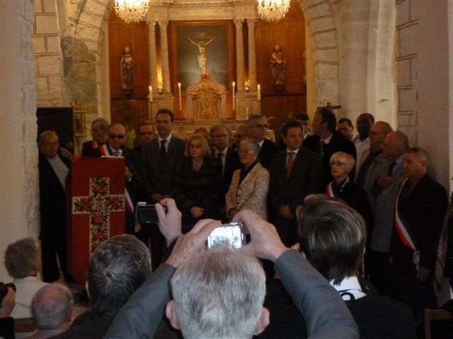 10 mars 2012 Inauguration  de l'Eglise Saint Aignan