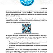 UNSA BOUGE du 28/08/2019 - L'équipe UNSA Soléa