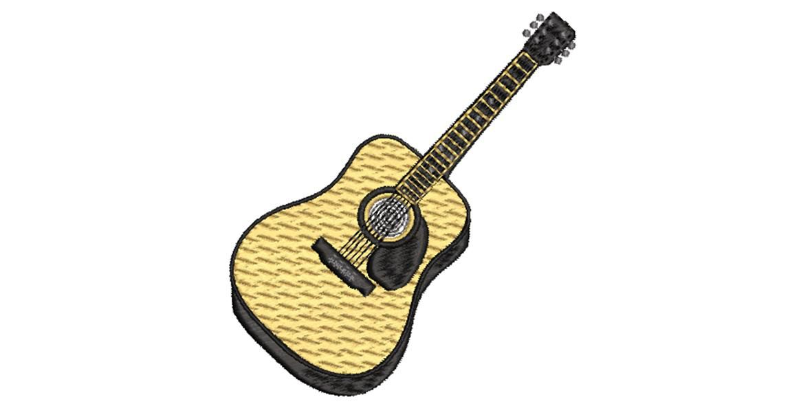 BRODERIE GUITARE