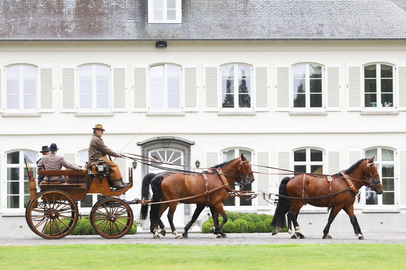 A la Route de Lorraine de 2017, l'auteur Andres Furger présente une Wagonette, attelée à quatre, de manufacture Suisse, Kauffmann, Reinbolt & Christe à Bâle