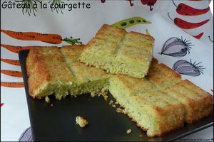 Gâteau à la courgette (sucré)
