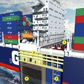 """De l'usage de la 3D : Les coulisses du cargo francais """"JULES-VERNES"""" - OOKAWA Corp."""