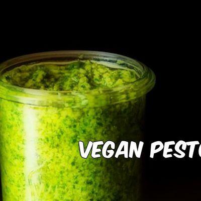Sốt Pesto chay / Vegan Pesto