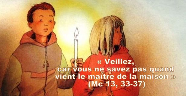 Prière universelle - 1er dimanche du temps de l'Avent, 29 novembre 2020, année B