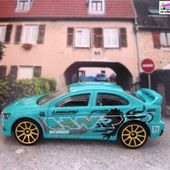 MITSUBISHI 2008 LANCER EVOLUTION HOT WHEELS 1/64 MITSUBISHI EVO 2008 - car-collector.net