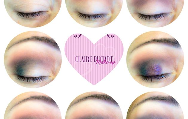 Step by step by Claire Ducrot make-up